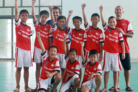 Lứa cầu thủ trẻ tiếp theo của Học viện HAGL Arsenal JMG sắp được trình làng