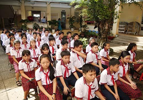 Học bổng Lawrence S.Ting: 10 năm đồng hành cùng Trường THCS An Thành, Tây Ninh - Ảnh 3.