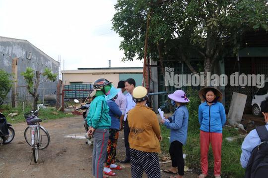 Cơ sở bột liệm tử thi phớt lờ chỉ đạo của tỉnh Quảng Nam - Ảnh 1.