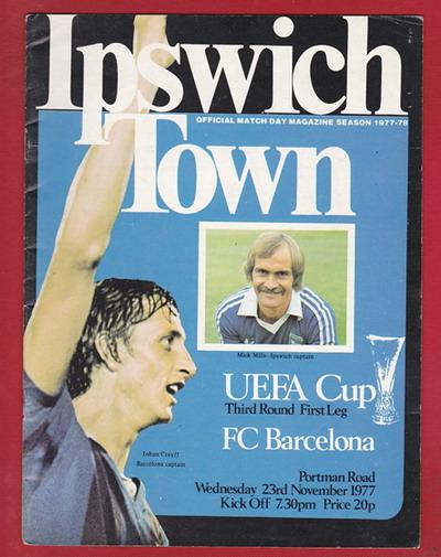 Cruyff trên báo chí Anh trước giờ bóng lăn...