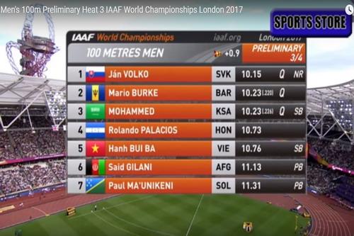 Tuyển thủ điền kinh Việt lỡ cơ hội đua tài cùng Usain Bolt - Ảnh 1.