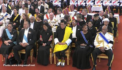 Thái Lan: Thi hài cố quốc vương được đưa vào tháp hỏa táng - Ảnh 3.