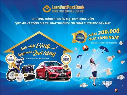 51 tỉ đồng tri ân khách hàng từ LienVietPostBank - Ảnh 1.