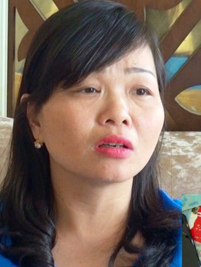 Lê Thị Mai Hương, nữ cán bộ Cảng hàng không Thọ Xuân dởm, bị bắt giữ khi đang nhận 100 triệu đồng