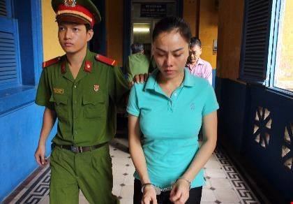 Bị cáo Trần Thị Thanh Ly tại tòa