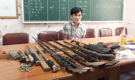 """Sắm AK cùng """"kho vũ khí nóng"""" lập lán buôn ma túy - Ảnh 1."""
