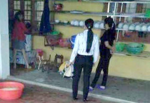 Ảnh từ clip gia đình cung cấp - Nguồn: Báo Lào Cai