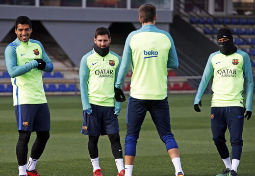 Messi luôn giữ được hòa khí với đồng đội ở Barcelona
