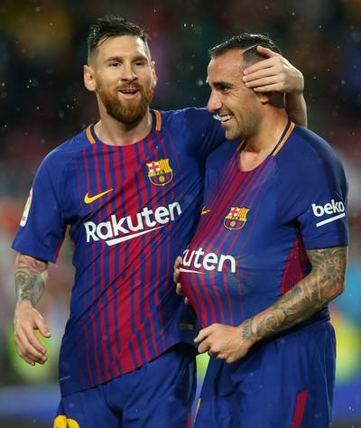 Người hùng Paco Alcacer giúp Barcelona nhấn chìm Sevilla - Ảnh 5.