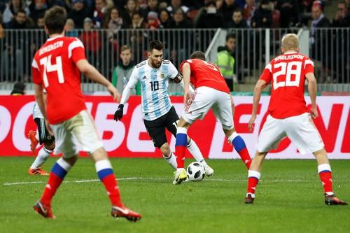 Dàn sao Argentina, Tây Ban Nha tỏa sáng loạt trận giao hữu - Ảnh 3.