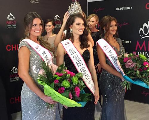 Cận cảnh nhan sắc Tân Hoa hậu Hoàn vũ Đức - Ảnh 1.