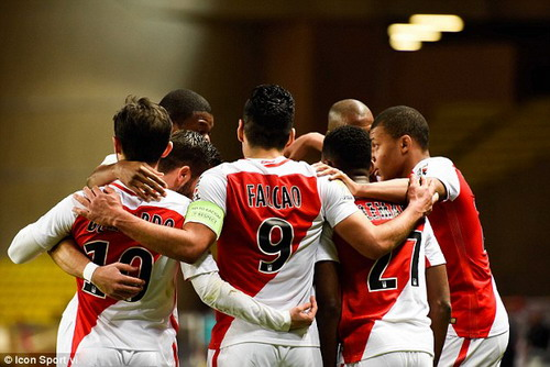 Monaco là một trong ba đội bóng tấn công hay nhất châu Âu mùa này