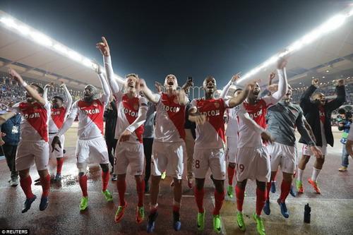 Monaco ngược dòng thành công trước Man City