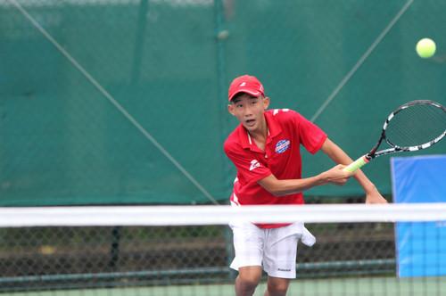 Nhiều tay vợt trẻ thế giới tranh tài ở TP HCM - Ảnh 1.