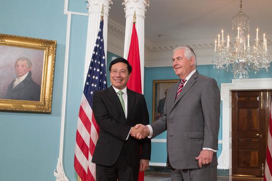 Ngoại trưởng Mỹ Rex Tillerson chúc mừng Quốc khánh Việt Nam - Ảnh 1.