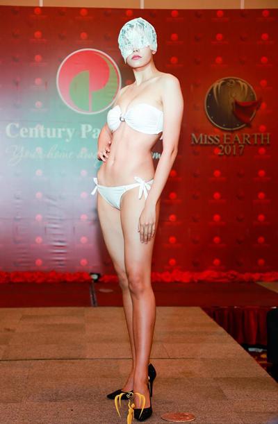 Thí sinh Hoa hậu Trái đất khoe hình thể với bikini - Ảnh 3.