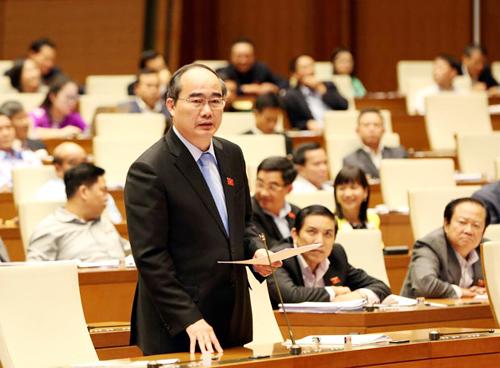 Ông Nguyễn Thiện Nhân làm Trưởng đoàn đại biểu QH TP HCM - Ảnh 1.
