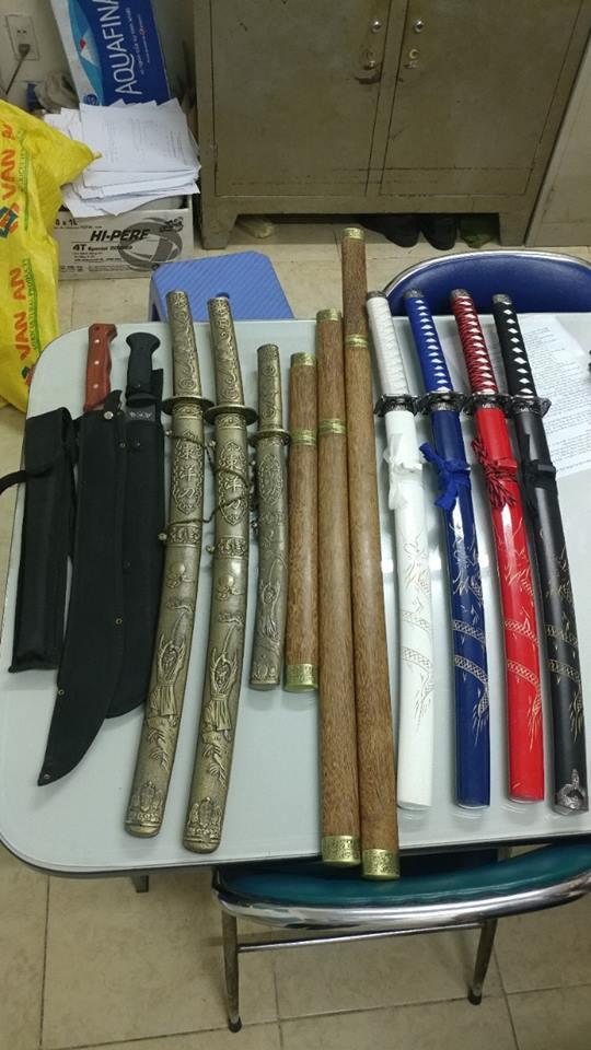 TP HCM: Bắt băng sản xuất vũ khí nguy hiểm - Ảnh 2.