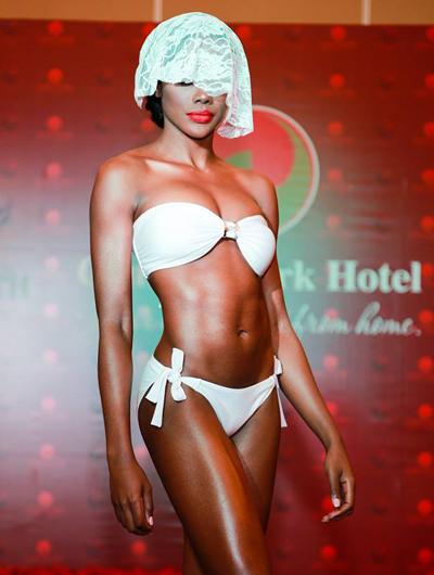 Thí sinh Hoa hậu Trái đất khoe hình thể với bikini - Ảnh 5.