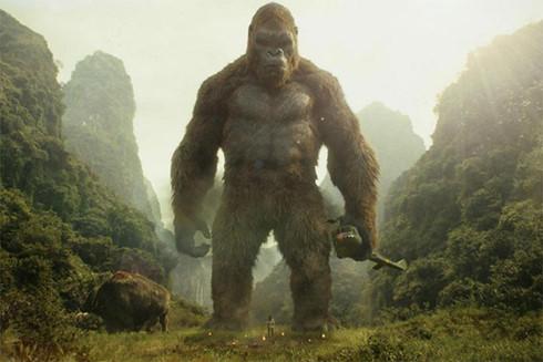 Cảnh trong phim Kong: Đảo đầu lâu
