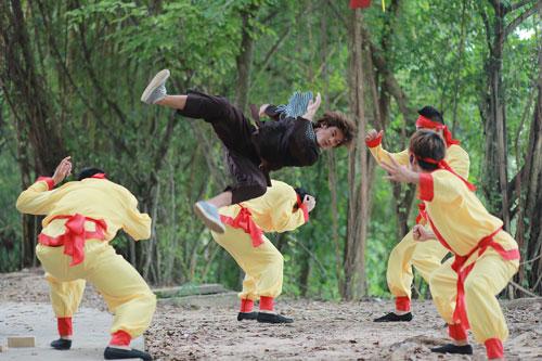 Một cảnh trong phim Lục Văn Tiên