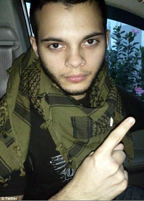 Santiago từng tới văn phòng FBI ở Anchorage tháng 11-2016 và nói rằng hắn bị ép chiến đấu cho IS. Ảnh: Twitter