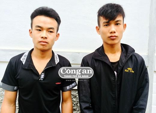 Nguyễn Văn Lâm và Dương Văn Thắng bị bắt giữ.