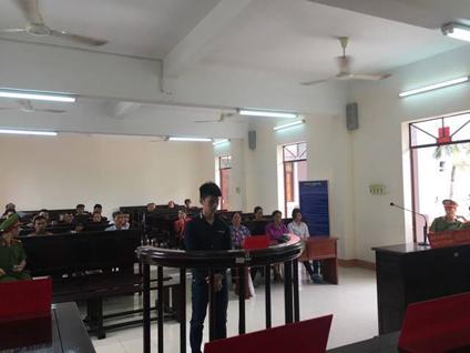 Bị cáo Đặng Chí Tình tại phiên tòa