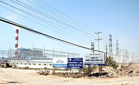 Trung tâm Nhiệt điện Vĩnh Tân, nơi đã xảy ra vụ nổ lớn - Ảnh: Lê Trường