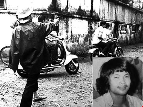 Săn bắt cướp nổ súng vào nghi phạm bắt cóc con BS Nguyễn Lã Hỷ. Ảnh: TƯ LIỆU. Trung tá Mai Thống Nhất (ảnh nhỏ) khi còn là chiến sĩ săn bắt cướp huyện Bình Chánh. (Ảnh do nhân vật cung cấp)