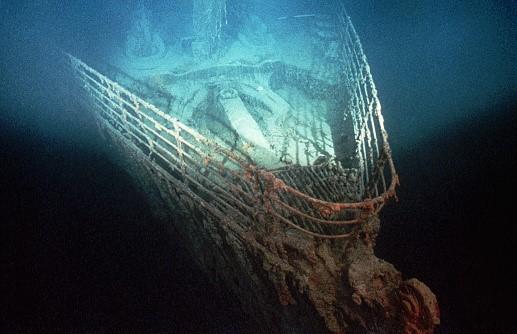 Xác tàu Titanic vẫn nằm yên dưới đáy biển sau chuyến đi định mệnh hơn 100 năm trước. Ảnh: Getty.