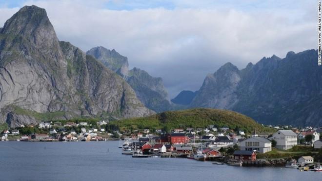 Na Uy là đất nước nằm ở Bắc Âu, có nhiều phong cảnh đẹp. Ảnh: Getty.
