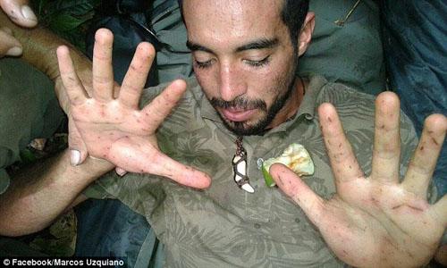 Lạc trong rừng Amazon, Maykool vẫn trở về, được nhiều người đánh giá là kỳ tích. Ảnh: MarcosUzquiano.