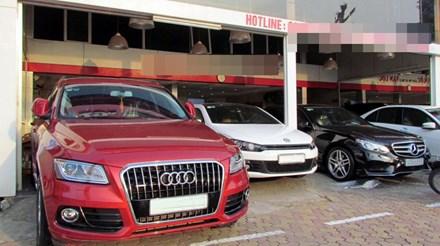 Kinh doanh ô tô cũ đang ngày càng sôi động.
