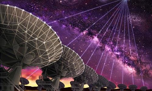 Tổ chức SETI phát hiện 11 tín hiệu vô tuyến có thể đến từ người ngoài hành tinh. Ảnh: Cnet.