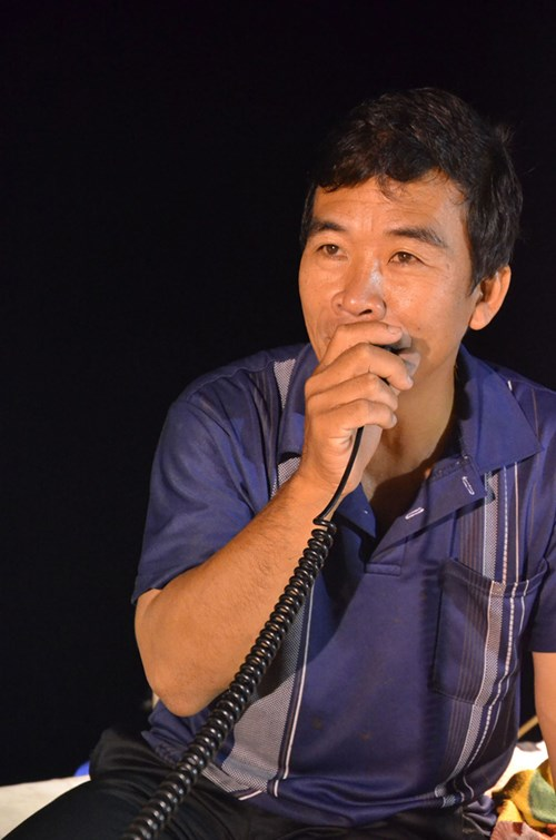 Thuyền trưởng Nguyễn Văn Mai.