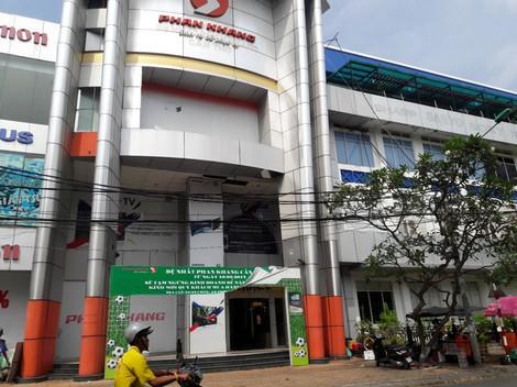 Cửa hàng điện máy Phan Khang Cần Thơ.