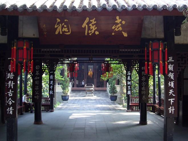 Đền thờ Khổng Minh ở Thiểm Tây. Ảnh: China.