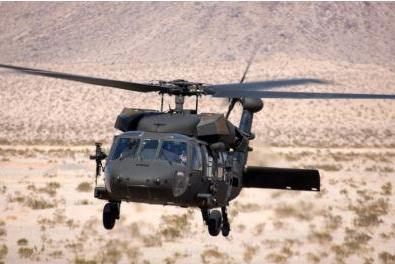 Một chiếc trực thăng Black Hawk của lực lượng Ả Rập Saudi. Ảnh: Lockheed Martin