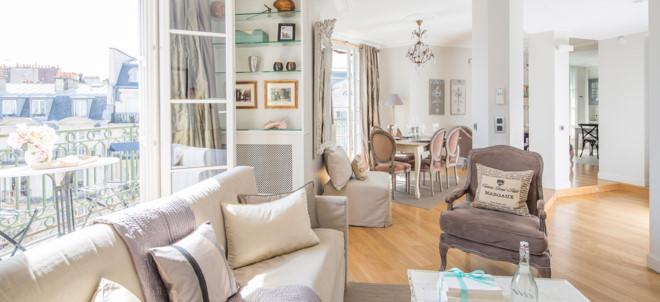 Thuê một căn nhà tiết kiệm nhiều so với ở khách sạn nếu đi đông người. Ảnh: Parisperfect.