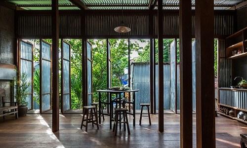 Mê mẩn căn nhà gỗ độc không tưởng ở Châu Đốc - Ảnh 2.
