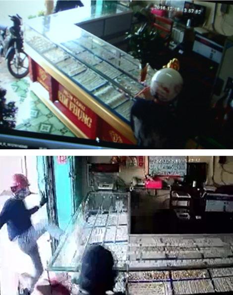 24 giờ tìm dấu vết băng cướp tiệm vàng ở Tây Ninh - Ảnh 1.