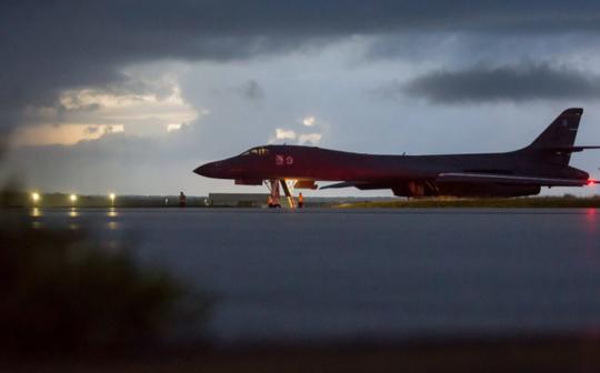 Triều Tiên đã đe dọa sẽ bắn hạ oanh tạc cơ chiến lược của Mỹ ngay cả khi chúng không nằm trong không phận nước này. Ảnh: EPA