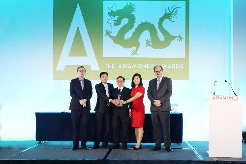 HDBank nhận giải Ngân hàng tốt nhất Việt Nam 2017 - Ảnh 1.