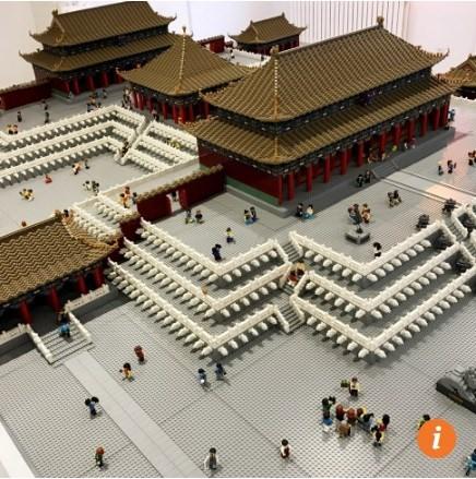 Tái tạo tử cấm thành bằng 500.000 miếng lego - Ảnh 2.
