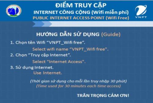 Wifi miễn phí phục vụ Lễ hội hoa Tam Giác Mạch 2017 - Ảnh 2.