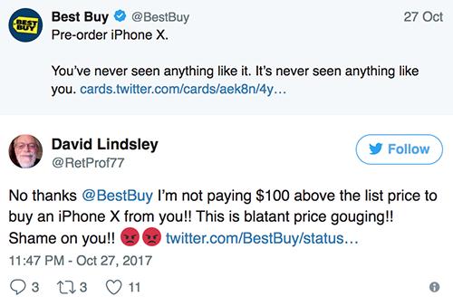 Người dùng Mỹ phẫn nộ vì iPhone X đội giá 100 USD - Ảnh 2.