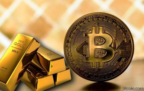 Giao dịch vàng sụt giảm mạnh vì Bitcoin - Ảnh 1.