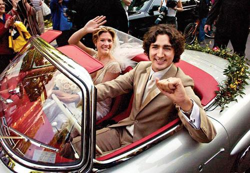 Chuyện tình ngọt ngào của Thủ tướng Canada và vợ - Ảnh 1.