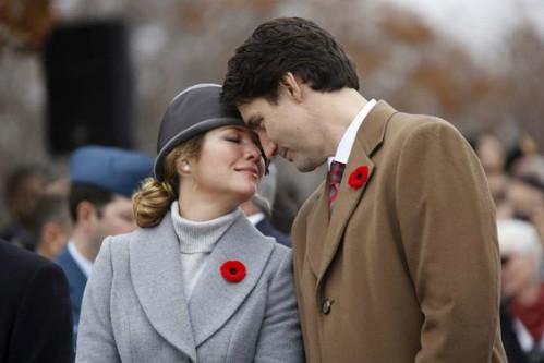 Chuyện tình ngọt ngào của Thủ tướng Canada và vợ - Ảnh 2.